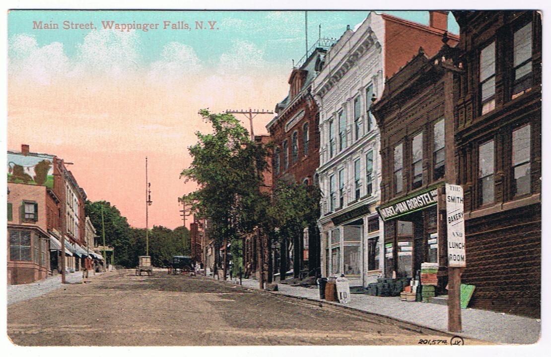 East Main Street Looking East