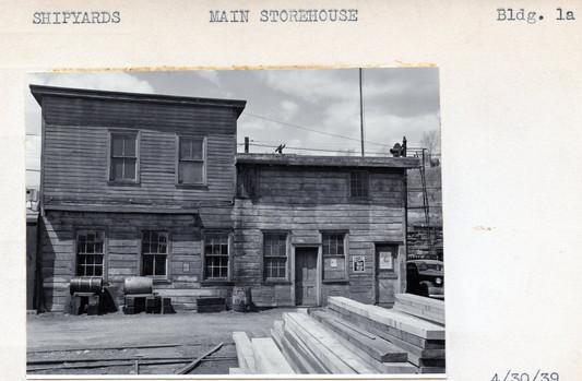 Shipyards, Main Storehouse, Building 1a, 4/30/39