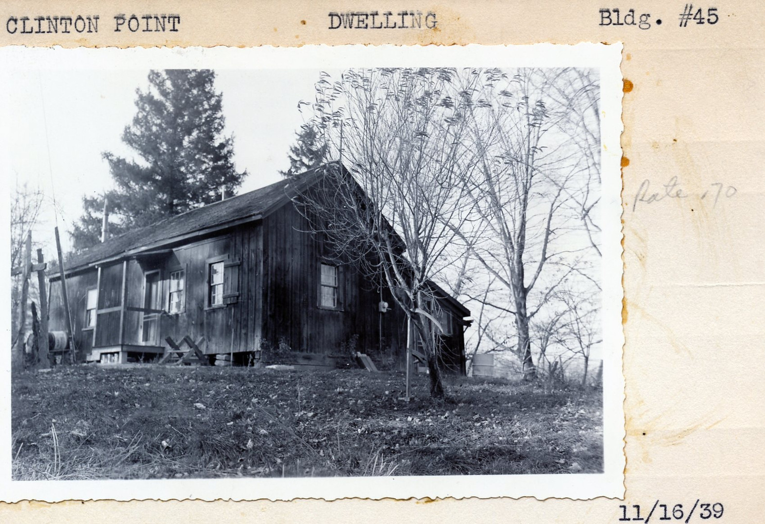Dwellings Building #45 11/16/39