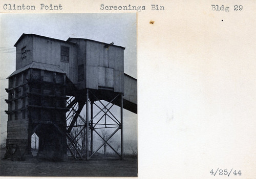 Screenings Bin, Building 29, 4/25/44