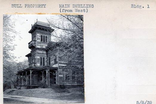 Bull Property, Main Building (From West), Building #1, 5/8/39