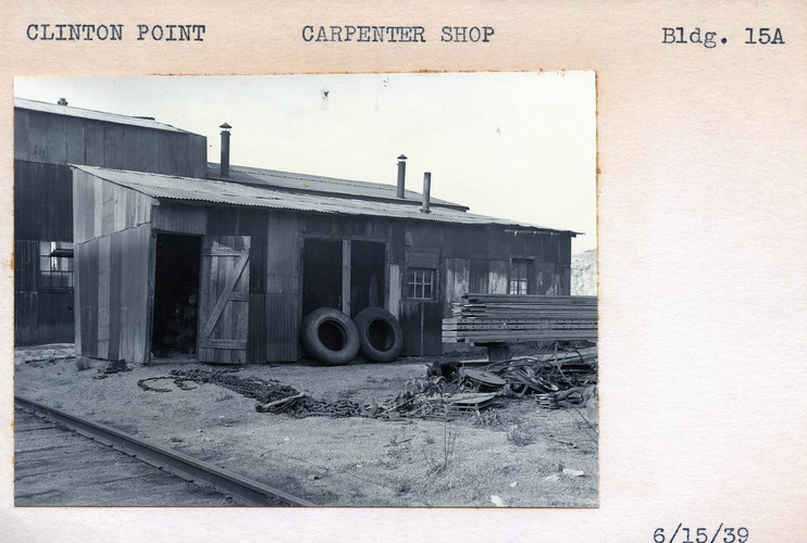 Carpenter Shop, Building 15A, 6/15/39