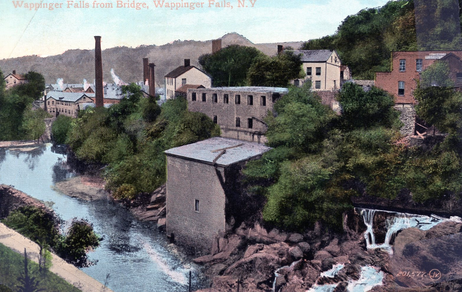 Wappingers Falls from Bridge
