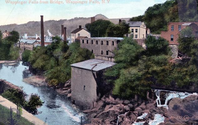 Wappingers Falls from Bridge