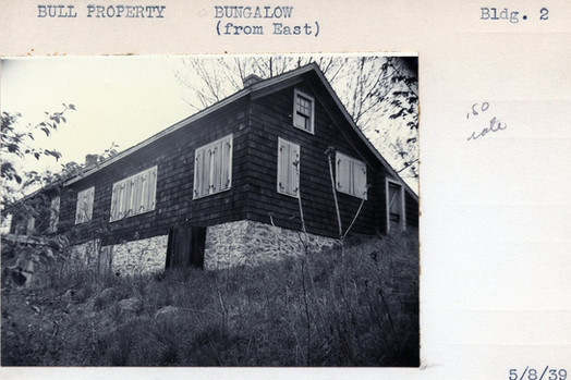 Bull Property, Bugalow (From East), Building #2, 5/8/39
