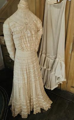 Wedding Dress and Underskirt