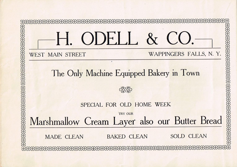 q - Old Home Week Souvenir Pamphlet - Au