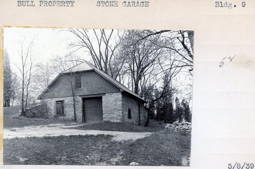 Bull Property, Stone Garage, Building #9, 5/8/39