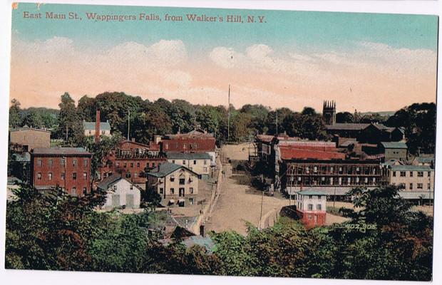East Main Street from Walker's Hill