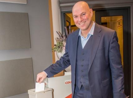 Bürgermeister Dirk Lukrafka tritt erneut an!