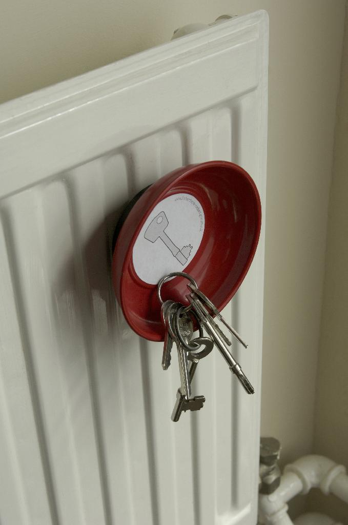 Magnetic Key Dish