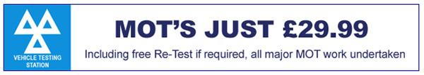 mot testing in st helens