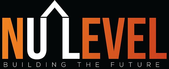 NuLevel Logo White With Black Background