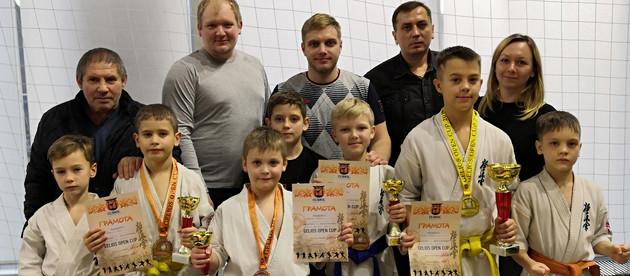Открытый Международный турнир по Киокушинкай каратэ  «GELIOS OPEN CUP»