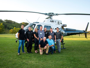 Eagle Copters Completes Upgrades on New Edmonton Police Air 1 Helicopter