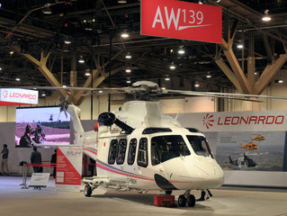 Eagle Copters and Waypoint partner for AW139 MUH Program