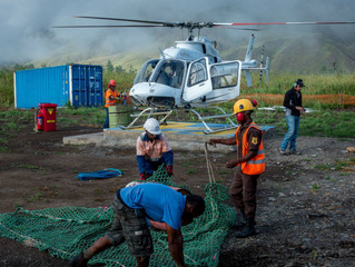 Eagle 407HP Heavy Lifting Trials in Papua New Guinea