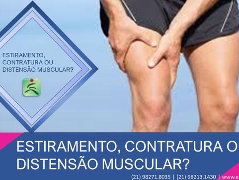 Estiramento, Contratura ou Distensão Muscular?