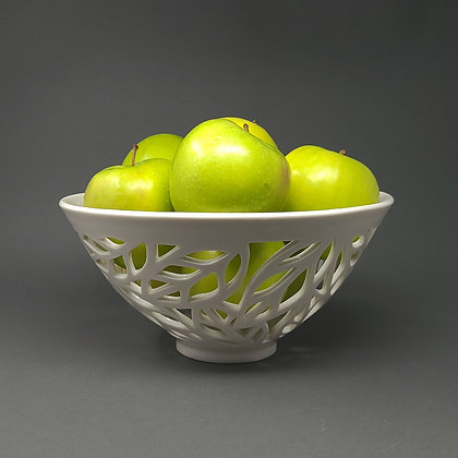 Carved Porcelain Bowl