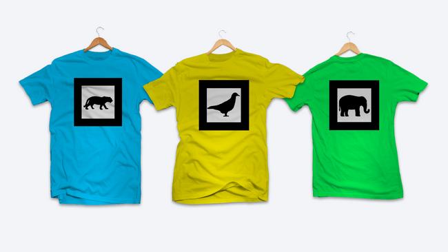AR Marker Shirts
