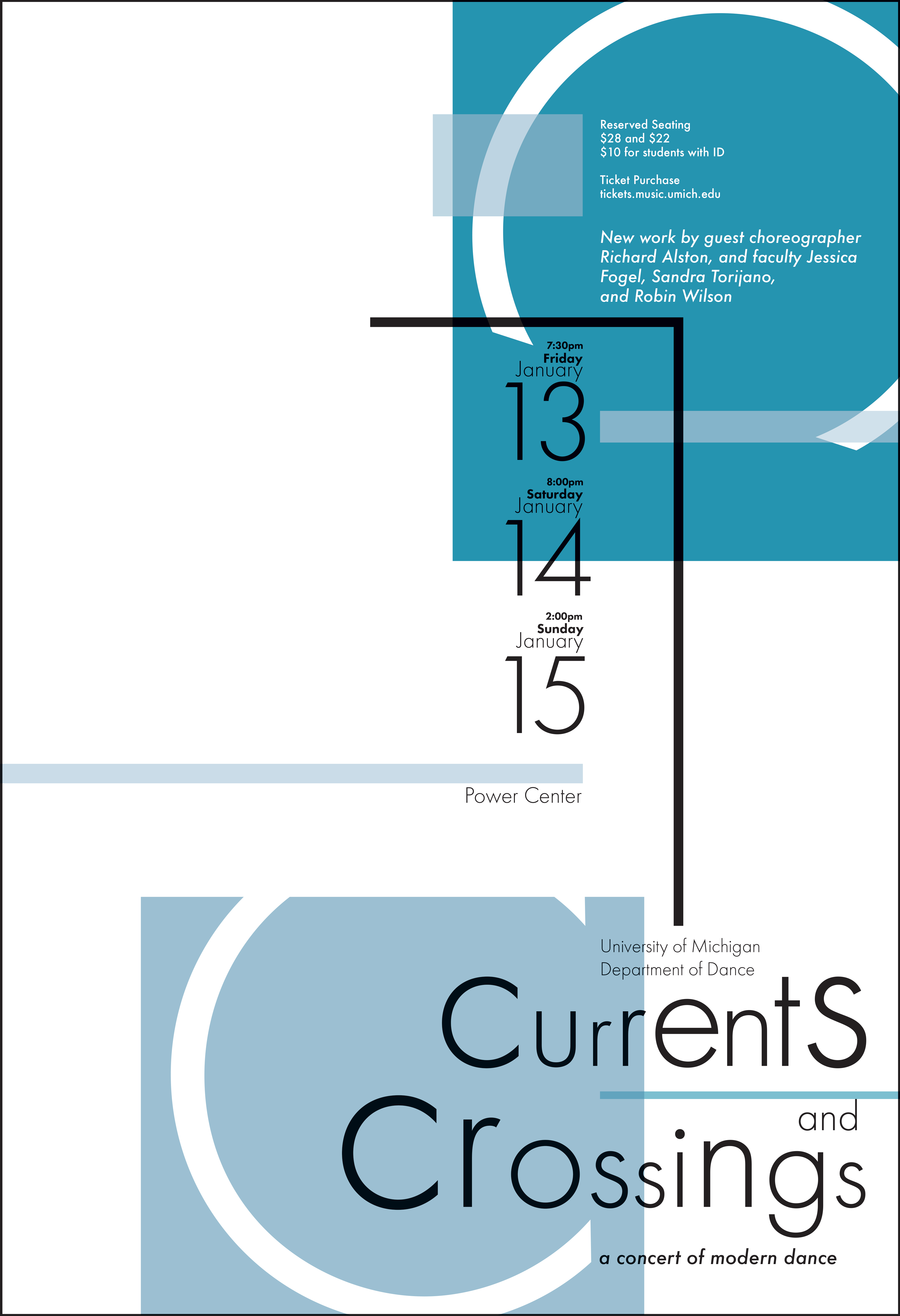 Currents and Crossings