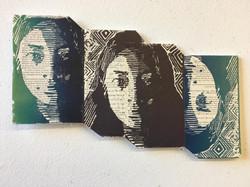 Self-Portrait Print Book Covers