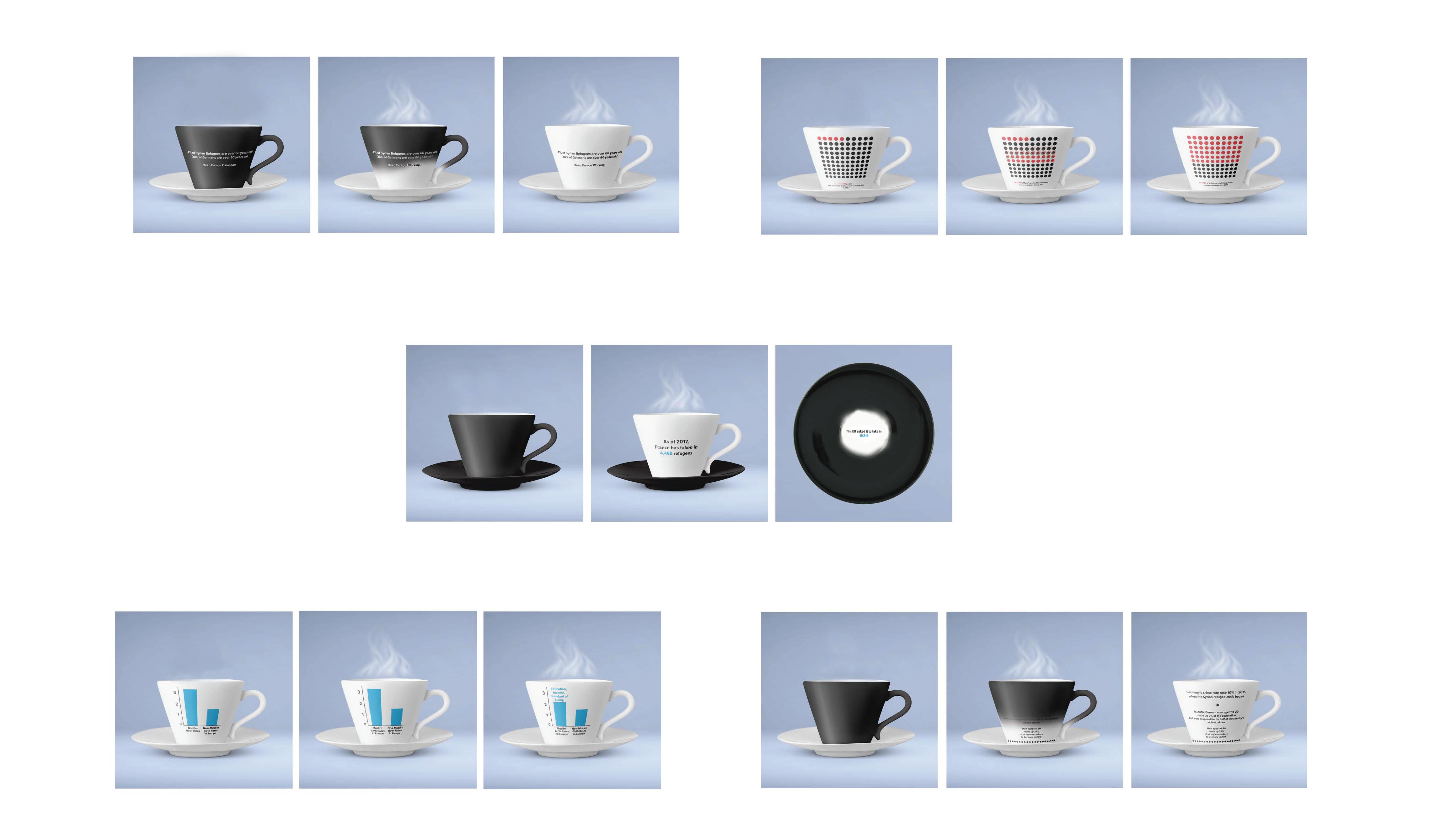Syrian Refugee Teacups