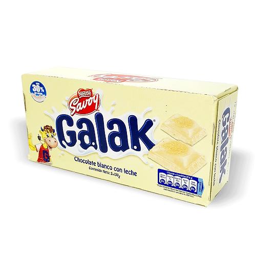 Chocolate Galak Caja de 5 Unidades 130 gr