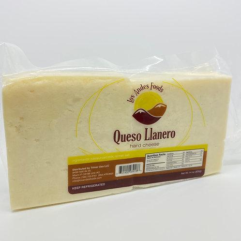 Queso llanero Los Andes Pieza 14 oz