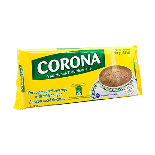 Cacao Corona Chocolate