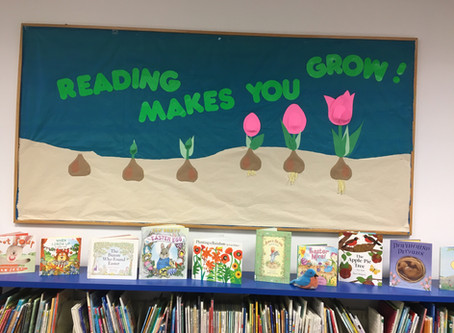 Spring has sprung at the Pierce City Branch Library!