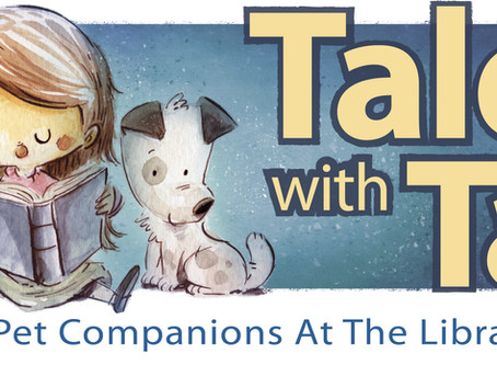 """Tales with Tails"" @ the Monett Branch Library"