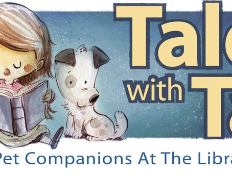 """""""Tales with Tails"""" @ the Monett Branch Library"""