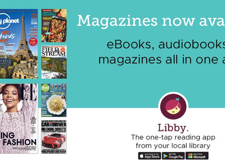 eMagazines Now Available through Libby!