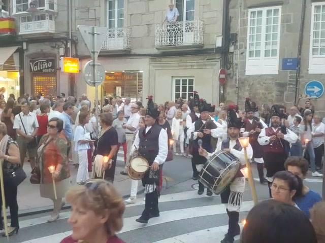 Na procesión da Peregrina..2017.