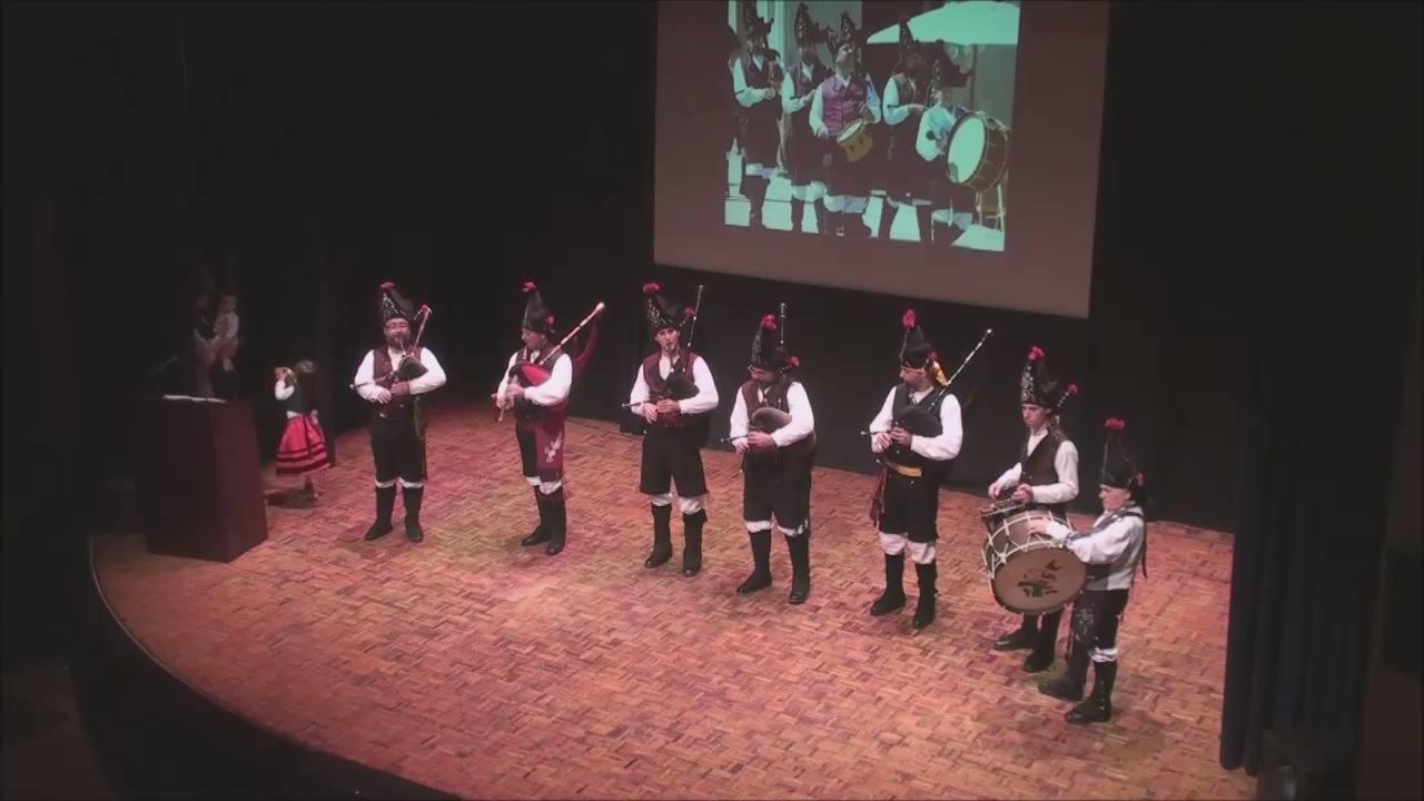 Os Alegres no festival 2014