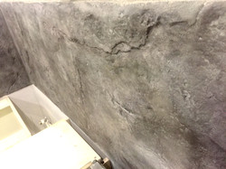 печатный бетон интерьер