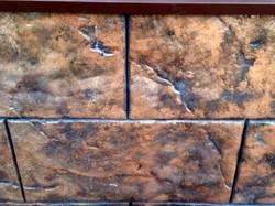 Искусственный камень из декоративного бетона цена за метр2