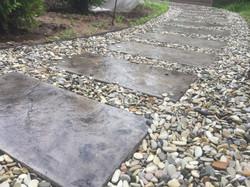 Тротуарные плитки большого формат
