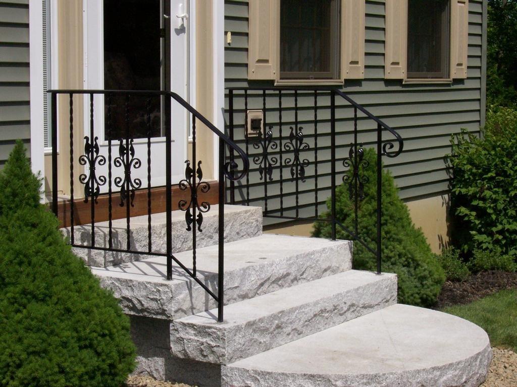 exterior-handrails-for-concrete-steps-sc