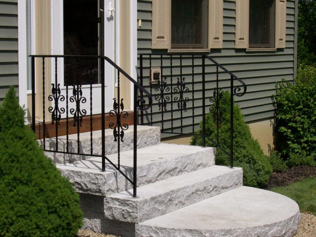 exterior-handrails-for-concrete-steps-sc