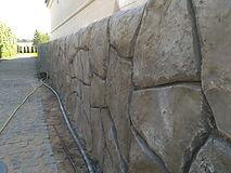 декоративная штукатурка флексцемент под искусственный камень