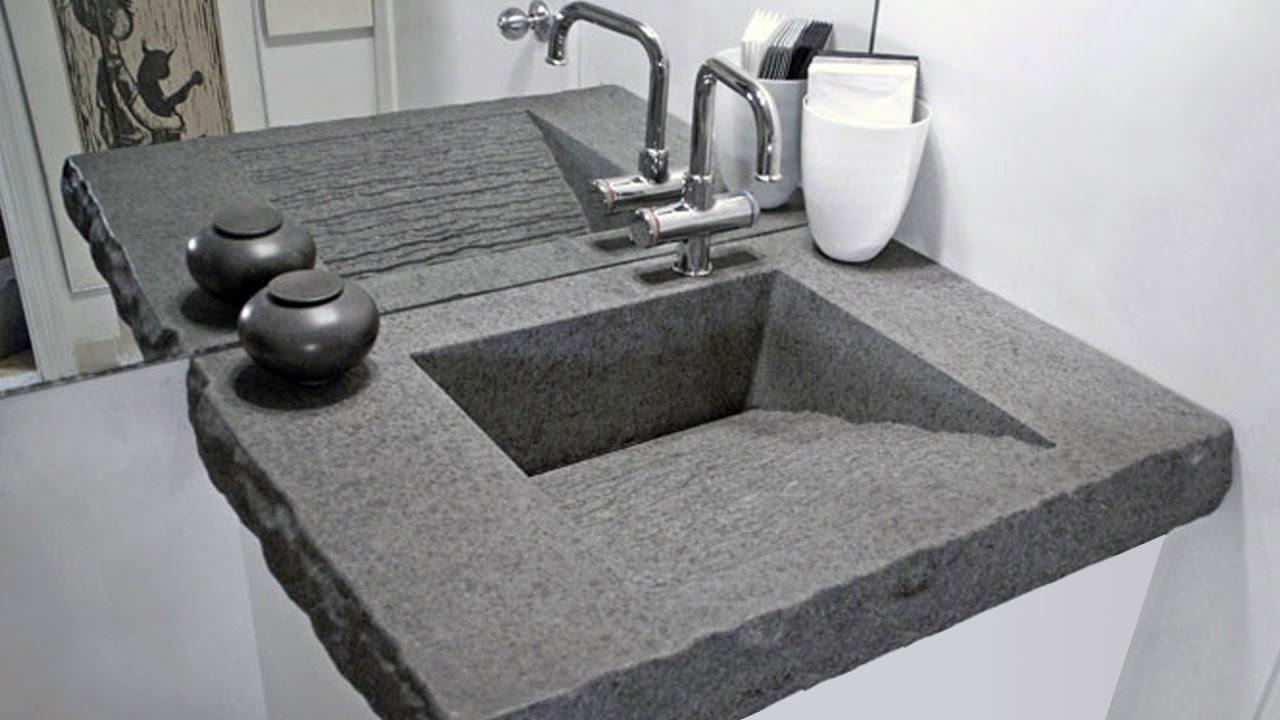 дизайнерские рукомойники бетон