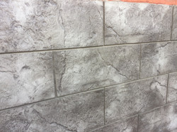 Декоративны бетон отделка цоколя