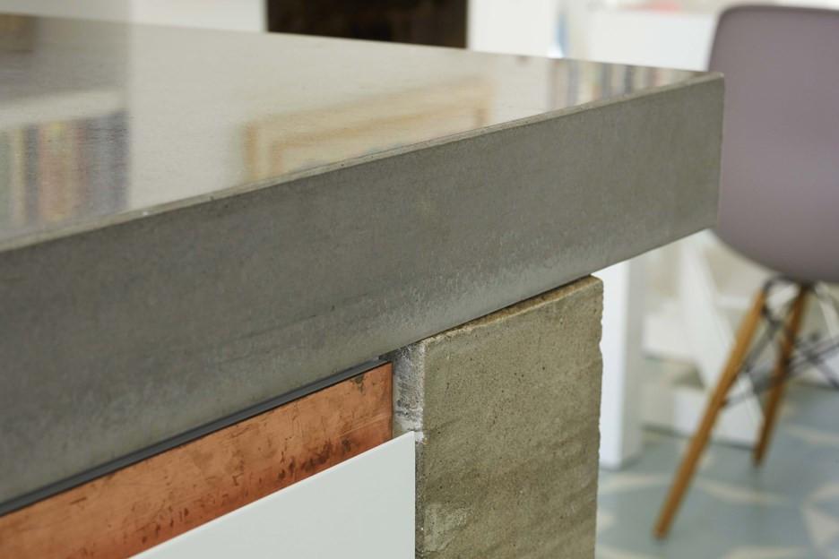 столешницы из бетона