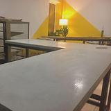 Декоратиный бетон мебель и столешницы