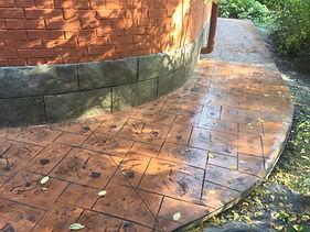 печатный бетон москва | штампоанный бетон москва цена