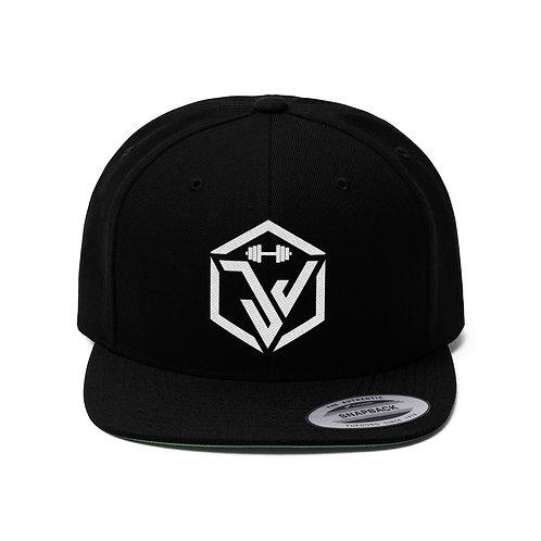 Team JJ Velasquez Fit Logo Flat Bill Hat