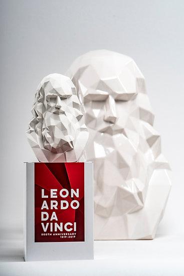 Leonardo da Vinci - MiniScultura White
