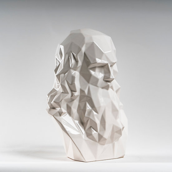 Leonardo da Vinci - Scultura White